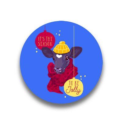 Magnet de frigider Nima It's the season to be jolly